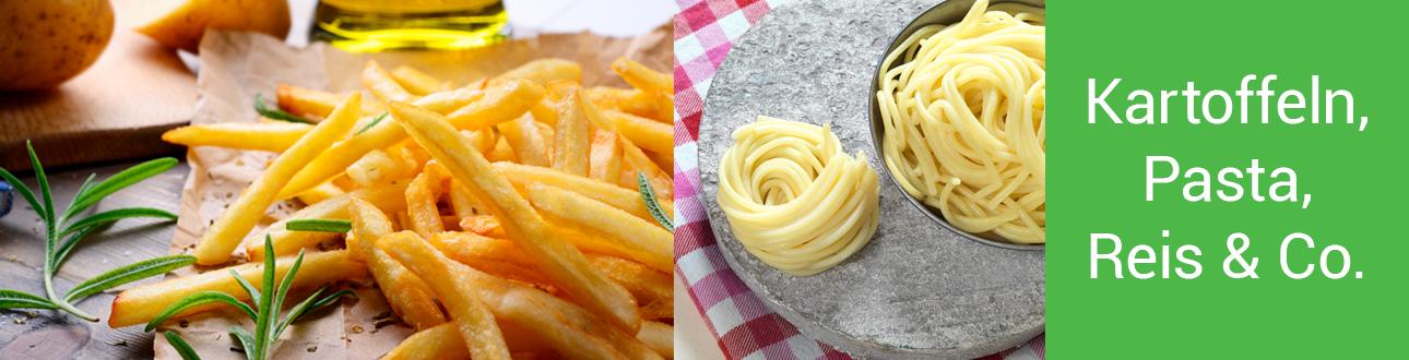 Kartoffeln, Pasta, Reis & Co.